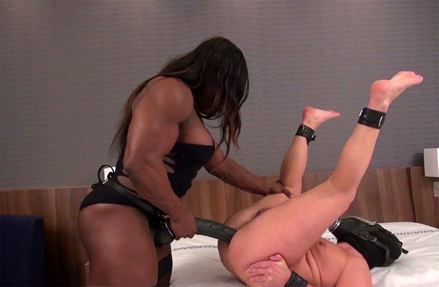 male slaves fucked by female mistress