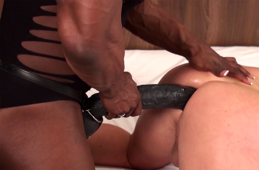 Mistress fucks her slave and then makes him eat his own cum 5